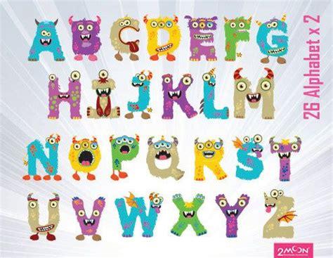 free printable monster alphabet letters font clipart free download clip art free clip art on