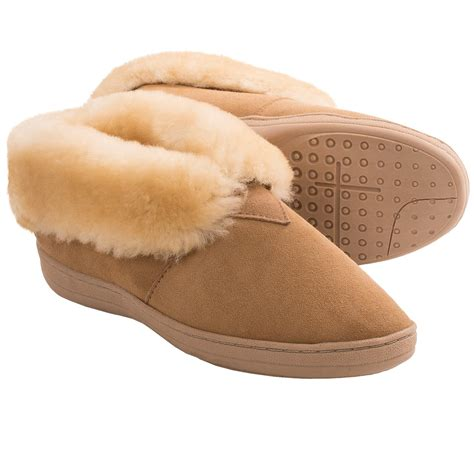mens bootie slippers shop clarks shearling bootie slippers for save 26