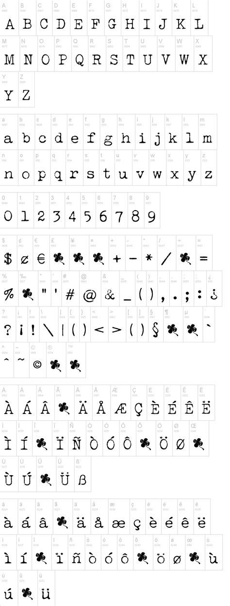 dafont typewriter lucky typewriter font dafont com