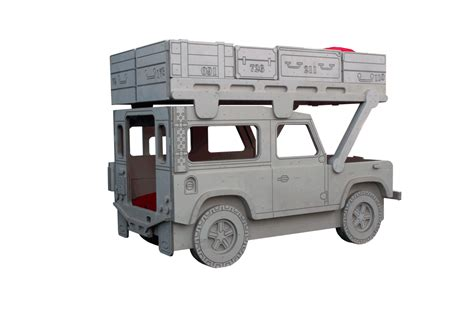 land rover kid land rover 90 safari military themed bunk bed by fun