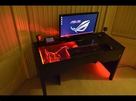 Custom Computer Desk Plans Custom Pc Desks And Computers On