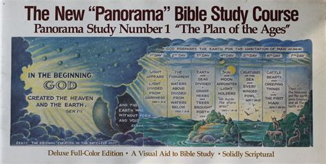 panorama visualizado de la biblia panorama bible study course 1 of 2