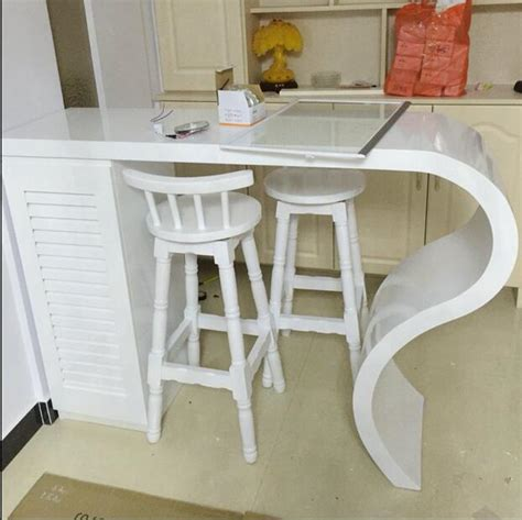 wall tables for living room simple household paint bar tables custom curved cut off