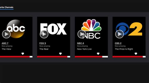 live tv are your live local channels on a tv service yet