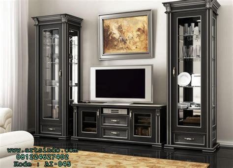 Lemari Hias Tv harga lemari tv set bufet tv minimalis model meja tv terbaru arts indo furniture jepara