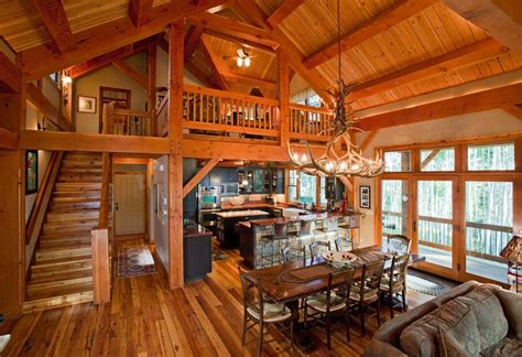 open floor plans with loft loft open floor plans dining room rustic with timber loft