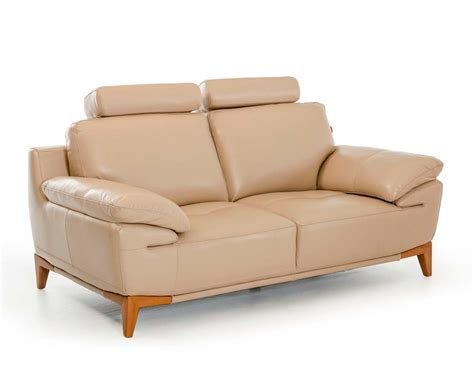 contemporary taupe leather sofa set vg410 leather sofas