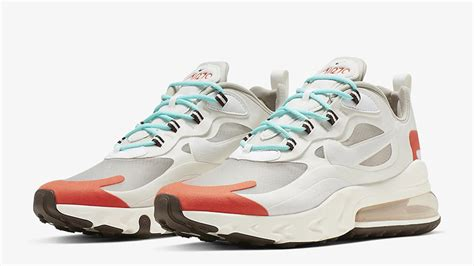 Nike Air Max 200 React by Nike Air Max 270 React Beige Orange Where To Buy Ao4971 200 The Sole Supplier