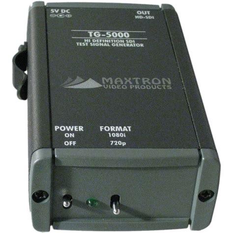 hd video pattern generator maxtron tg 5000a dual format hd sdi pattern generator tg 5000a