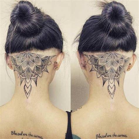 tattoo back of head best 25 scalp tattoo ideas on pinterest head tattoos