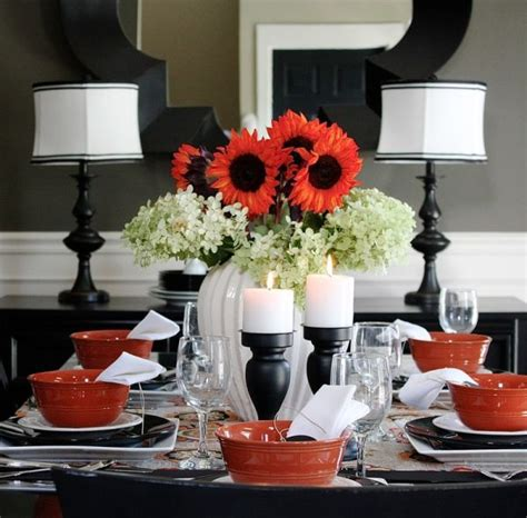 black and white decorations black and white thanksgiving decor ideas