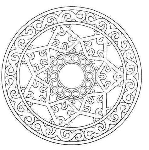 advanced mandala coloring pages printable mandalas for advanced mandala 20