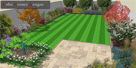 dublin garden design drawings  landscape contractor