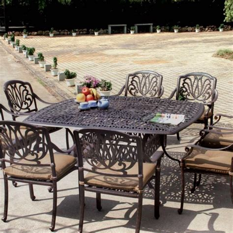 Patio Furniture Metal Sets Metal Patio Set Newsonair Org