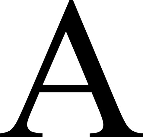 Letter A PNG images free download, a png A