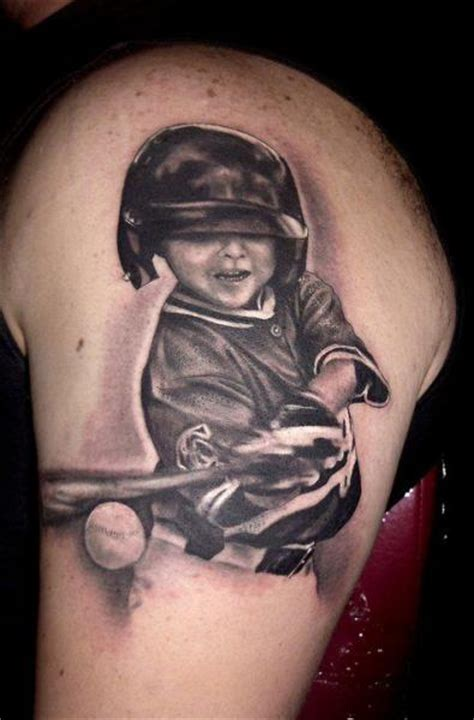 tribal baseball tattoos realistic baseball by andys