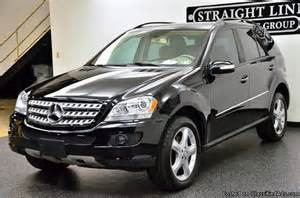 Used Cars Usa Mercedes 2008 Mercedes M Class Ml350 Edition 10 Black Suv V6