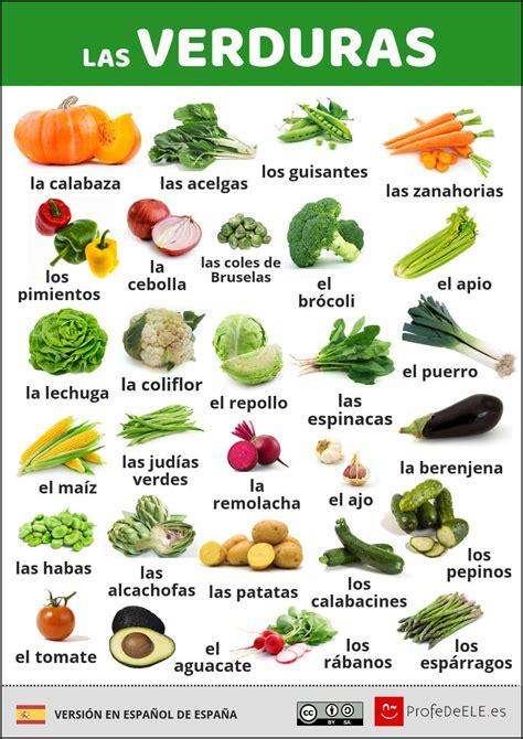 juegos para cocinar en espa ol vocabulario de las verduras en espa 241 ol con infograf 237 a