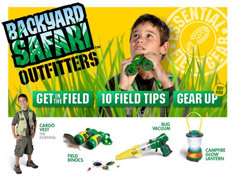 backyard safari backyard safari outfitters