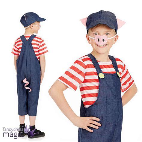 Niño Niños Niñas Tres Cerditos Cerdo CARNAVAL Día Disfraz   eBay