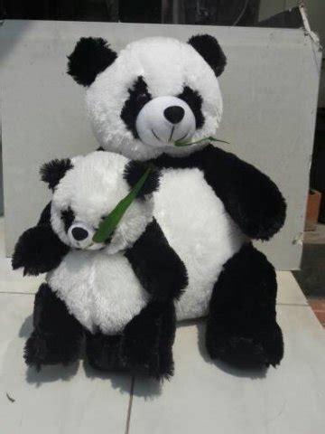 boneka panda imut  teman tidur  jomblo penakut