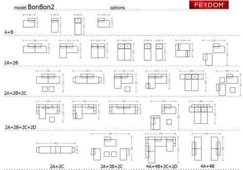 dimensioni divano letto divano letto bonbon2 di feydom arredamenti pjm international