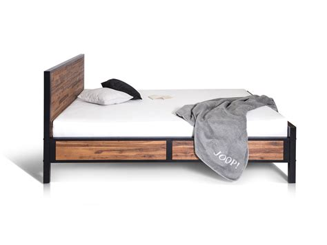 Bett Industrial industrial massivholzbett 160 x 200 cm