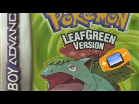 emuparadise leaf green how to download and run pokemon leaf green on gba emulator