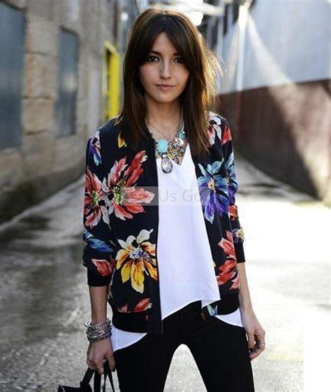 Jaket Wanita Winter Colum Printed Terbaru 2015 autumn jacket floral printed embroidery