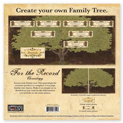 163 Best Images About Family Tree Scrapbooking Supplies On Create Your Own Family Tree Chart