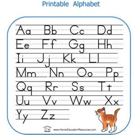 printing english alphabet printable alphabet letters hubpages