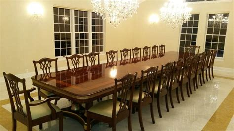 large dining room large mahogany dining table with leaves seats 12