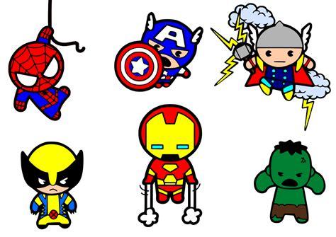 Gambar Chibi Iron krafty nook superheroes svg files cricut clip nooks search and kawaii