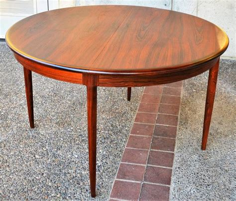dining table for 6 with leaf unique restored n o moller rosewood one leaf dining