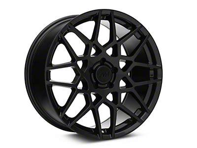 staggered amr black wheel mickey thompson tire kit
