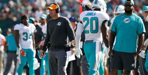 miami dolphins coach coke explains why she released of dolphins coach