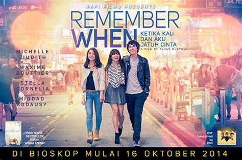 film romantis indonesia streaming nonton film remember when bioskop romantis 2014 free