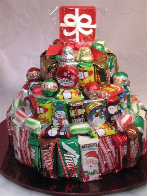layer christmas candy cake sweet  eat gifts