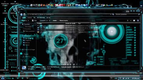 neon themes for windows 8 1 tema genial azul neon windows 7 y 8 youtube