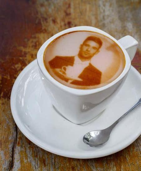 latte art pattern names 3d打印咖啡拉花只需10秒 帅哥美女图案随便选 图 陕西传媒网