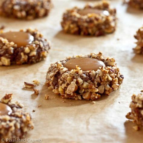 chocolate turtle cookies recipe dishmaps