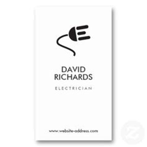 electrical business card template free electrician business card template business card