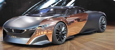 peugeot onyx oxidized peugeot onyx concept on show at goodwill festival of speed