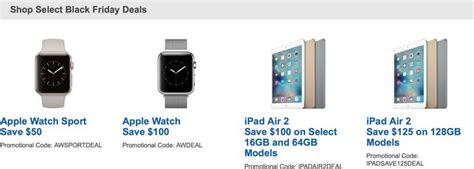 best buy offering up to 100 apple today only in pre black friday sale macrumors