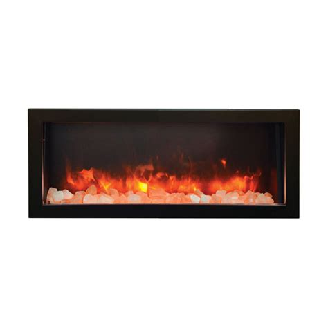 Outdoor Electric Fireplaces by Amantii Bi 40 Panorama 40 Inch Indoor Outdoor