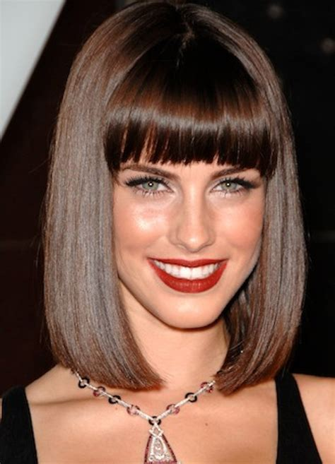 Hairstyles Bangs Bob | long haircuts for women bob hairstyles with bangs