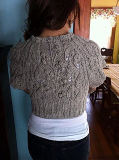 Calista Collar 11 Ravelry Enchanted Forest Cardi Pattern By Stitchlogue By