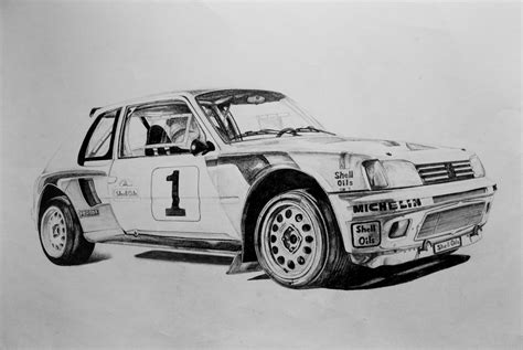 peugeot 205 t16 peugeot 205 t16 by piotr04 on deviantart