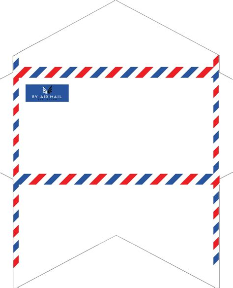 envelope pattern old english old fashioned correspondence airmail envelopes