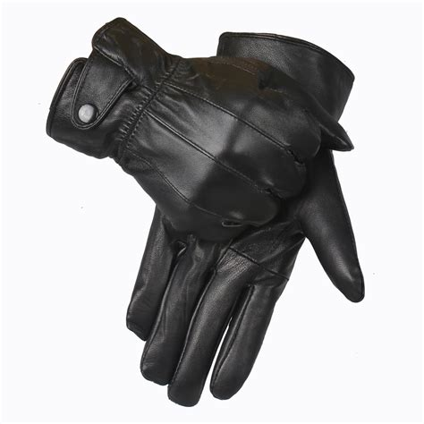 leather gloves aliexpress buy genuine leather gloves 2015 winter glove high quality real sheep